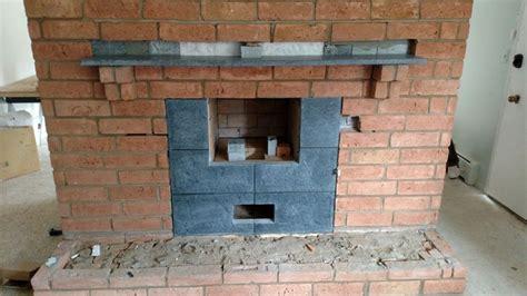Convert Fireplace To Masonry Heater fireplace conversions greenstone soapstone masonry heaters
