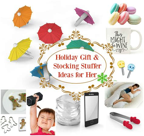 stocking stuffer ideas for her holiday gift stocking stuffer ideas for her wishes and