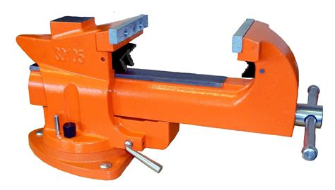 5 inch bench vise pony tools 30105 quick release heavy duty swivel base 5