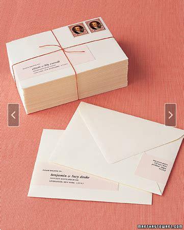 martha stewart wrap around address labels template invitations and programs wedding