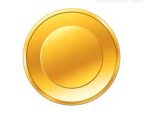 coin template psd gold coin icon psdgraphics