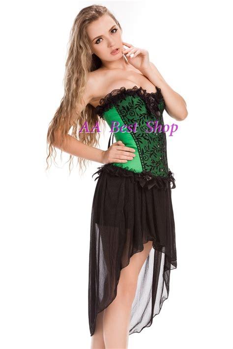 Ribbon Lace Skirt S M L Green Black Coffee Apricot 31289 green satin lace trim corset top s m l xl 2xl ebay