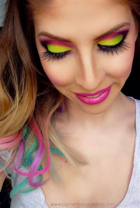 hair and makeup tutorials color crazy hair chalking video tutorial eotd