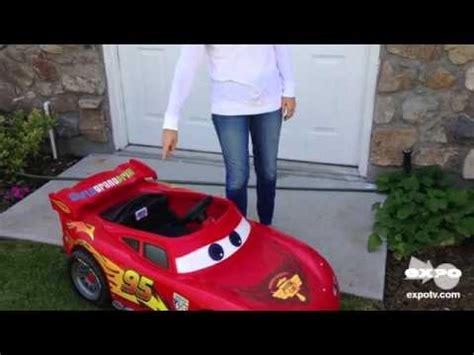 lighting mcqueen power wheels car power wheels power wheels disney lightening mcqueen race