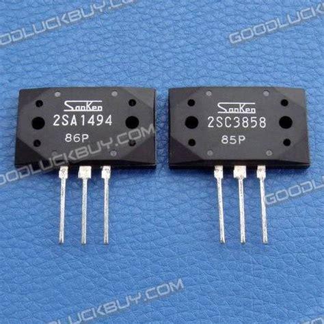 transistor sanken 2sc3858 2sa1494 2sc3858 original sanken transistor 5 pairs
