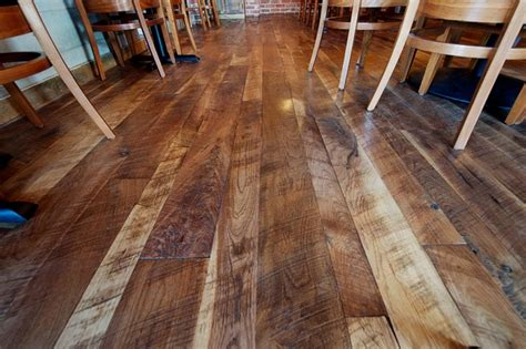 Cut Floors by Woodland Cut Circle Sawn Walnut Flooring Traditional