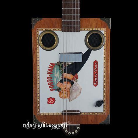 vana vana daddy daddy mojo cbg 6 string porto vana pin up girl rebel guitars