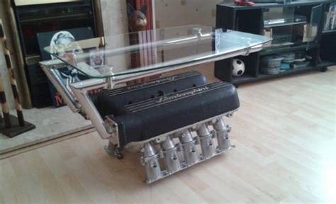 These Engine Block Tables Are Absolutely Awesome