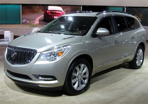 new car models 2013 buick enclave