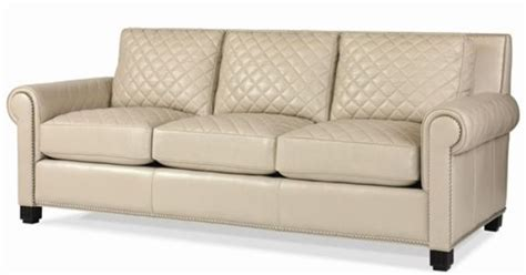 naples upholstery leather upholstery quilted leather stationary sofa by