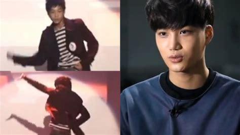 film exo kai exo kai s audition video revealed on sbs special