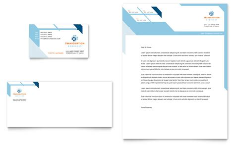 business cards letterhead templates transcription business card letterhead template