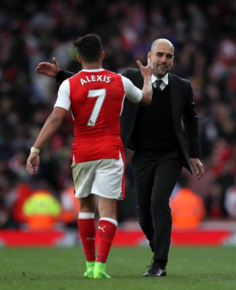 alexis sanchez news man city pep guardiola reveals why he chose not to compete with man