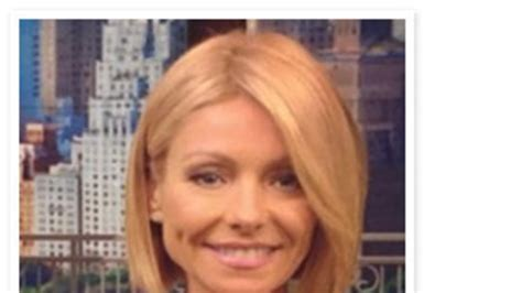 hair color kelly ripa uses do you like kelly ripa s new haircut instyle com