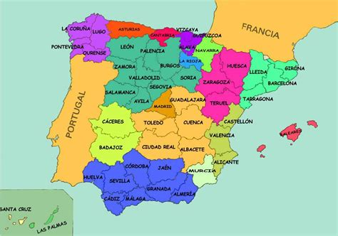 map of spain and regions sing play make and learn social studies
