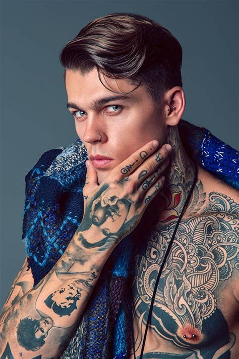 hot men with tattoos portraits ideas on tatluv black and grey portraits