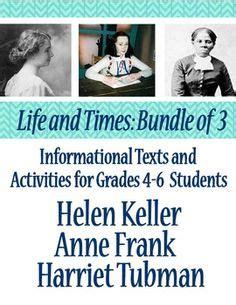 anne frank biography for middle school brainpop jr harriet tubman lesson ideas school