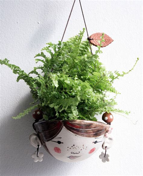 best small hanging plants ceramic mini hanging planter for small plants by jo
