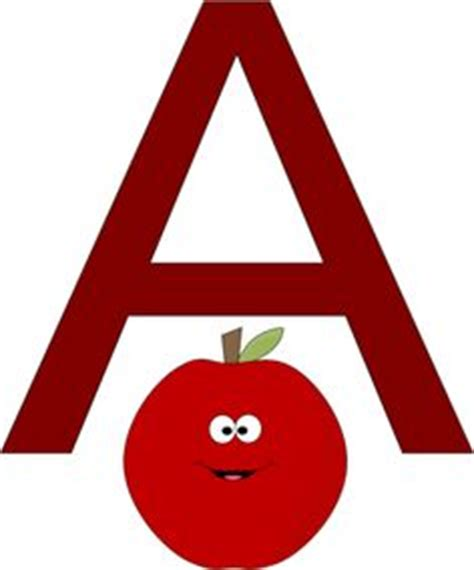 Letter Pic Letter A Pic Clipart Best