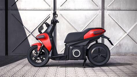 seat imzali elektrikli motosiklet ve elektrikli scooter log