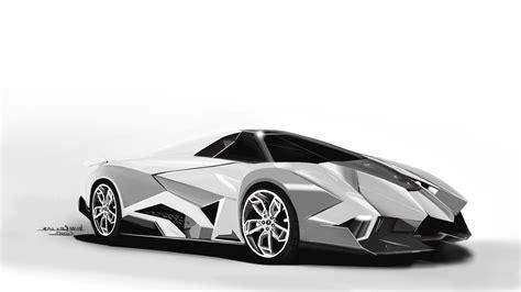 lamborghini speed painting egoista supercar