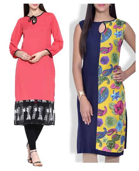 kurta back pattern 20 new kurti neck designs simple craft ideas