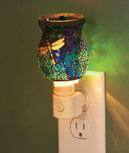 dragonfly home decor dragonfly mosaic glass night light hallway bathroom