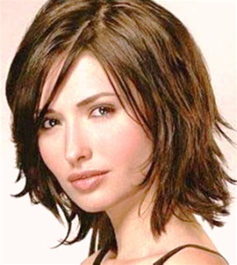 hairstyles for fine dense hair short layered haircuts thick hair