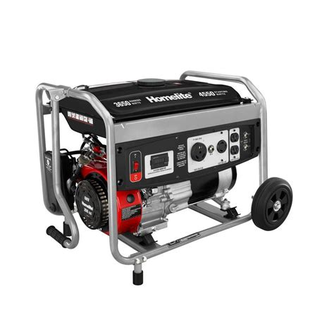homelite 3 650 watt 208cc gasoline powered portable
