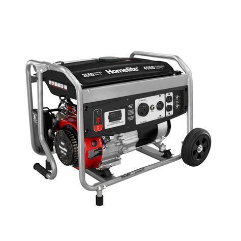 homelite 3 650 watt 208cc gasoline powered portable