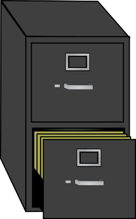 File Cabinet Clip Art at Clker.com   vector clip art