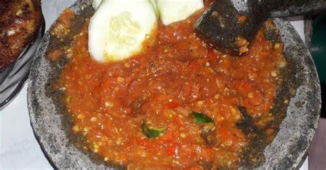 Sambel Tempong resep sambal tempong oleh heny rizqiyah cookpad