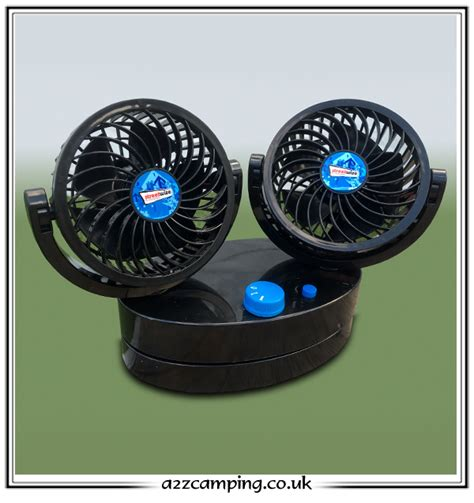 12 volt fans for cing oscillating 12v car caravan motorhome fan