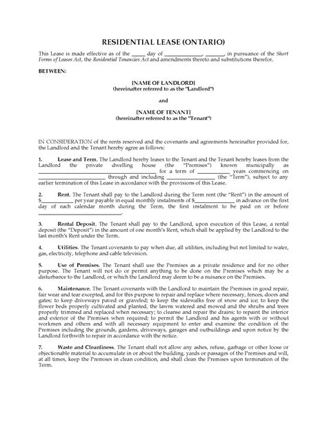 lease application form sample 9 free documents in word pdf