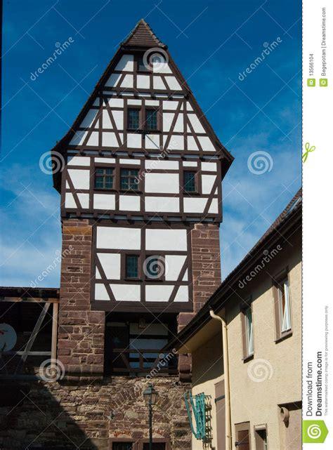 house in german medieval german house in stuttgart stock images image 13566104