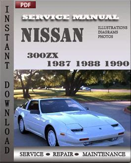 chilton car manuals free download 1991 nissan 300zx parking system nissan 300zx service manual pdf
