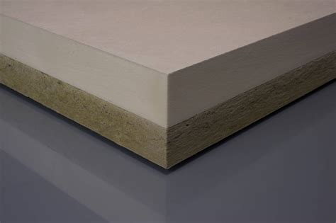 Flat Roof Gradient Pir Rock Mineral Wool Composite Gradient Flat Roof