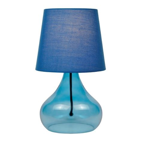 coolie shades for table ls lite source blue table l with coolie shade ls