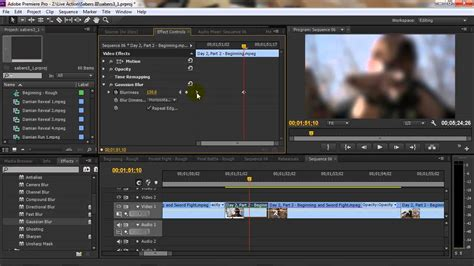 tutorial adobe premiere effects adobe premiere tutorial using video effects youtube