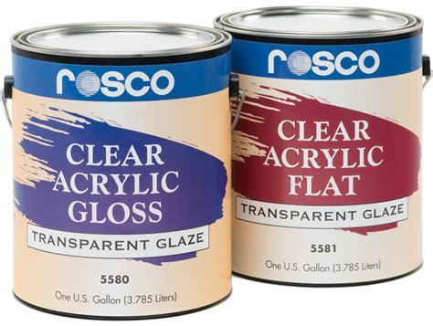 acrylic paint kl clear acrylic glazes rosco