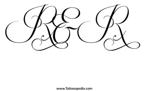 tattoo fonts r r fonts 5