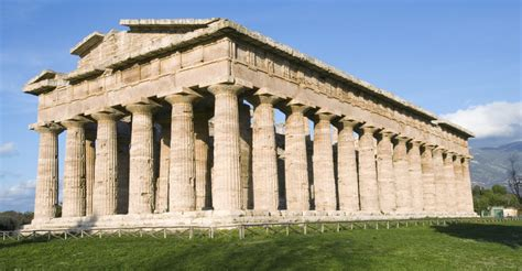 the temple of neptune at paestum architecture pictures ancient greece history