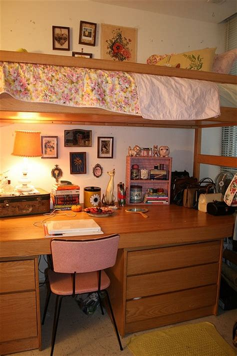 College Desks by College Desk With Loft Above Roomsketcher