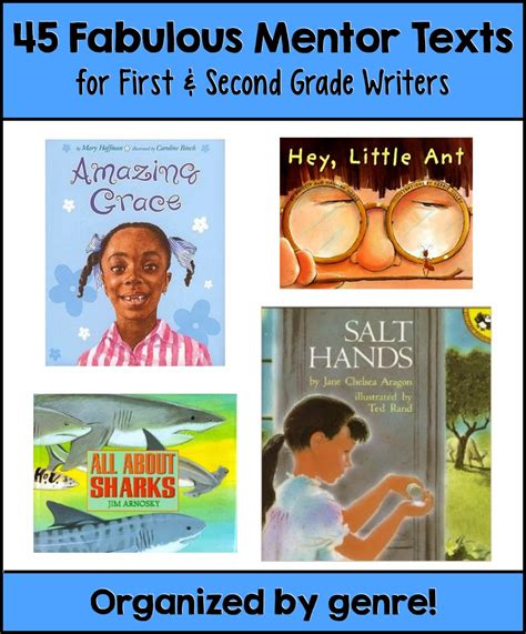 picture books for narrative writing writing workshop mentor texts for 1st and 2nd grade