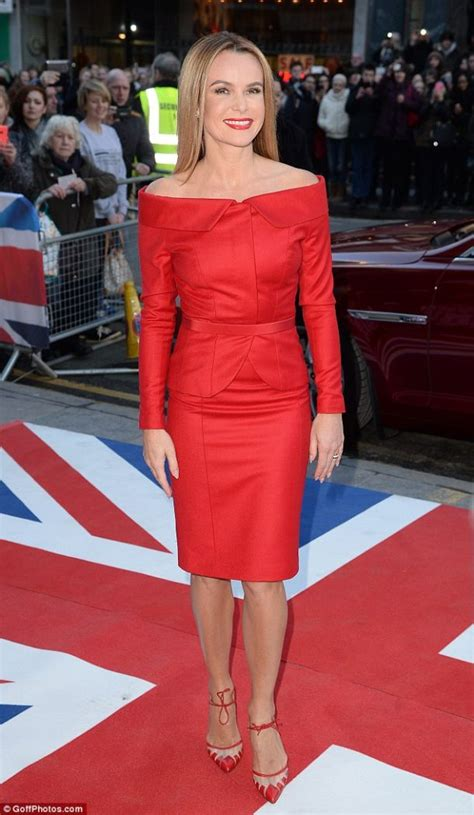 Amanda Overall Skirt amanda holden looks 10 years younger in to toe