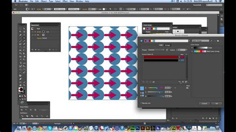 edit pattern color illustrator harmonious color changes to illustrator swatches