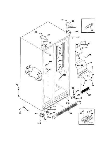 frigidaire refrigerator parts diagram refrigerator parts frigidaire refrigerator parts diagrams