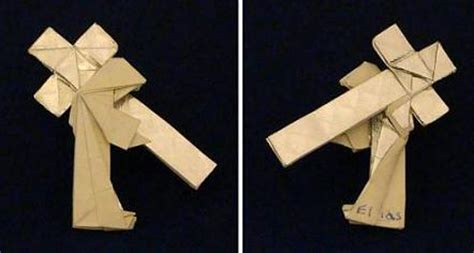 How To Make A Origami Cross - 1000 images about origami on
