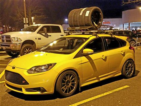 mk  st roof racks page  ford focus forum ford