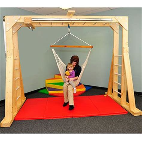 indoor therapy swing frame pin by jill stroud on sensory processing ot pinterest
